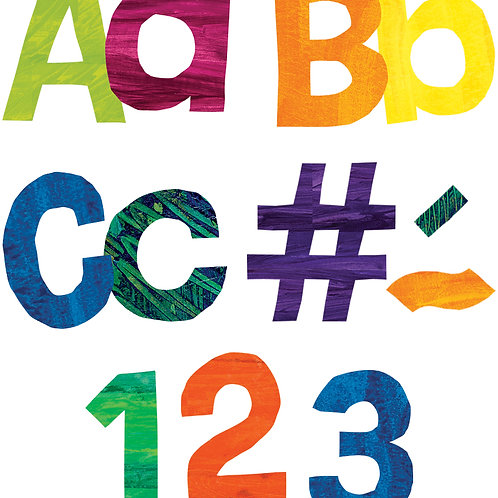 World of Eric Carle™ Colorful Tissue Paper Combo Pack EZ Letters