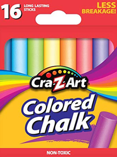 Cra-Z-Art Colored Chalk - 16 Count