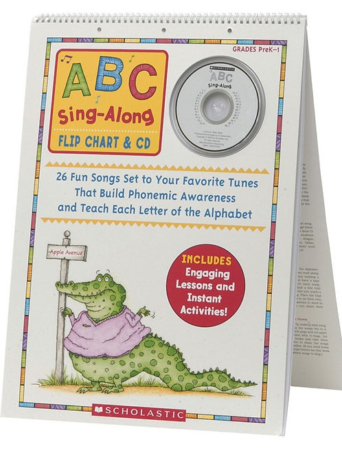 ABC Sing Along Flip Chart with CD
