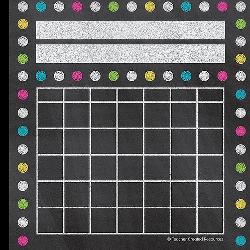 Chalkboard Brights Incentive Charts