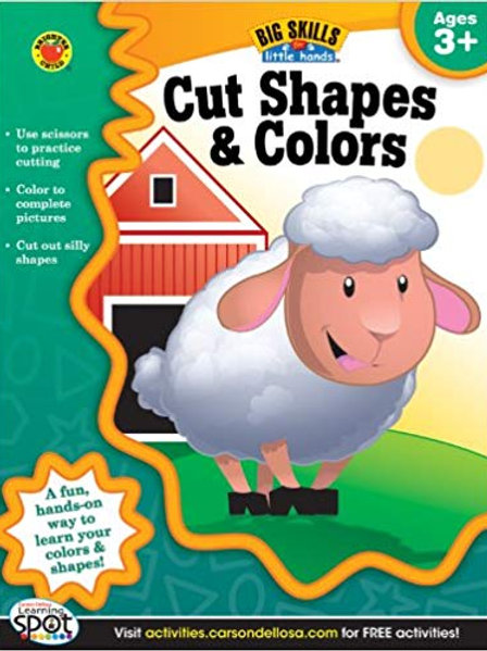 Cut Shapes & Colors Workbook
