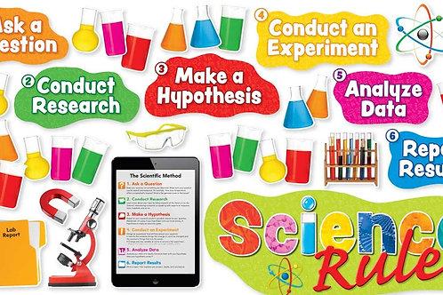 Science Rules Bulletin Board Set