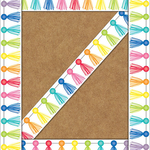 Tassel Straight Borders