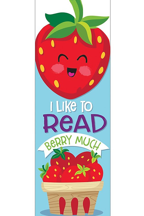 Strawberry Scented Bookmarks