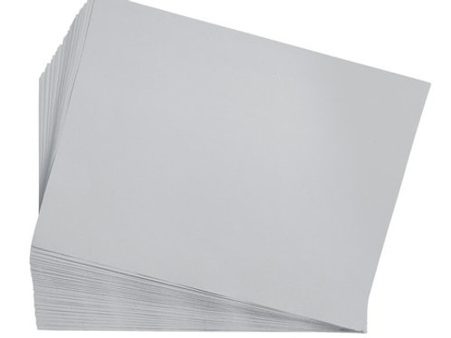 Construction Paper Gray    9 x 12    50 sheets