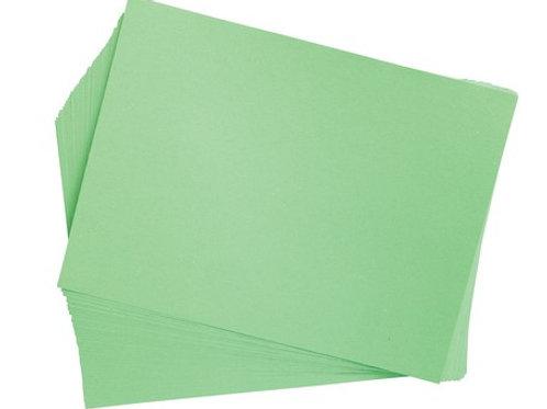 Construction Paper Light Green   9 x 12    50 pack