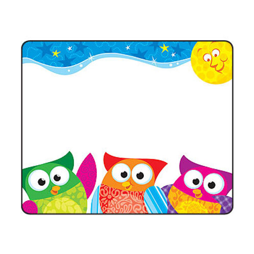 Owl-Stars Name Tags