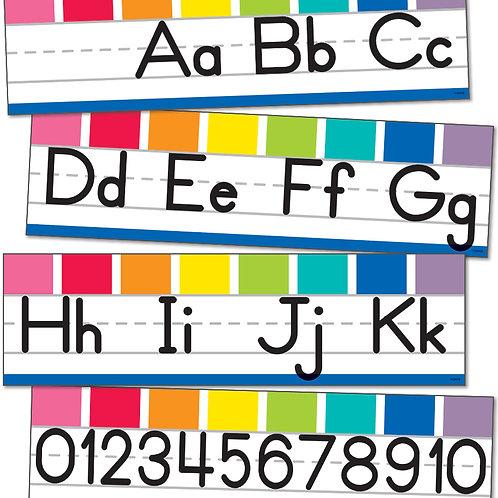 Hello Sunshine Alphabet Line