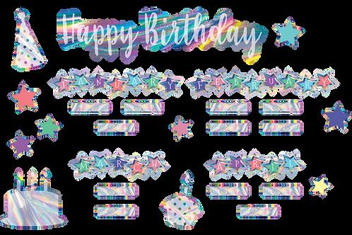 Iridescent Happy Birthday
