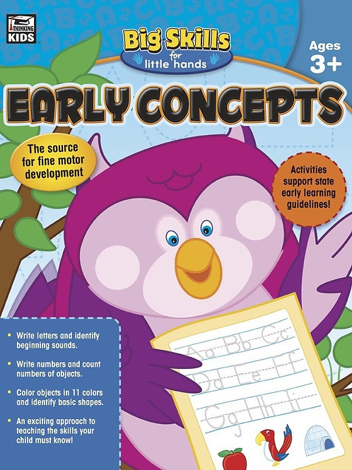 Early Concepts Workbook