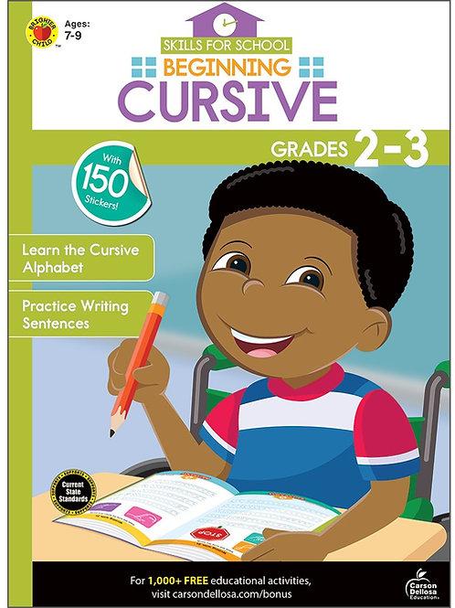 Beginning Cursive Activity Book