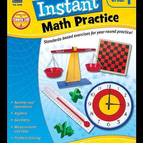 Instant Math Practice Grade 1