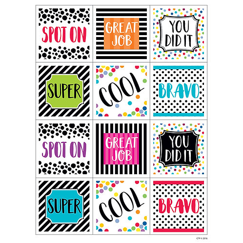 Bold & Bright Rewards Stickers