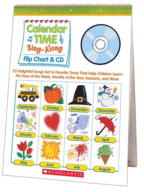 Calendar Time Sing Along Flip Chart & CD