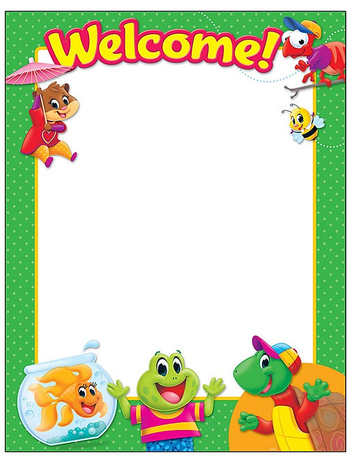 Welcome Playtime Pals Chart