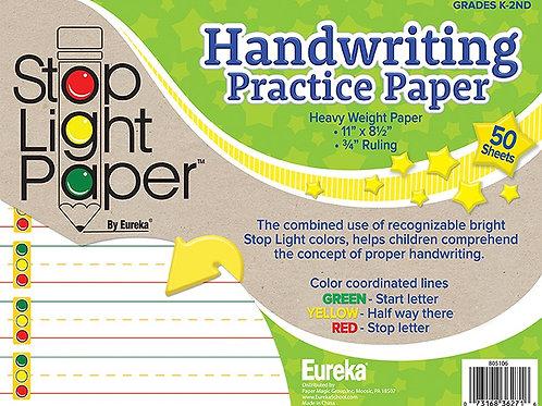 Stop Light Paper 50ct Practice Paper