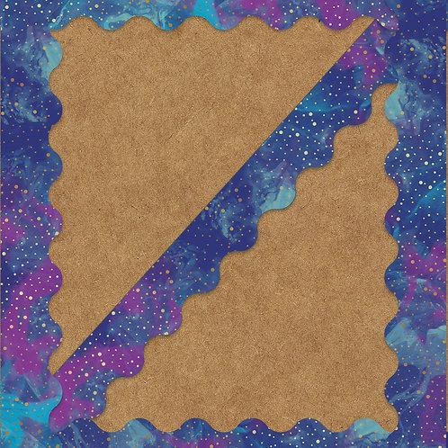Galaxy Scalloped Borders