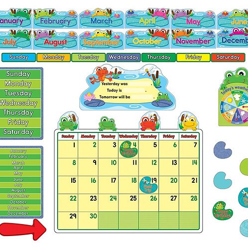 FUNky Frogs Calendar