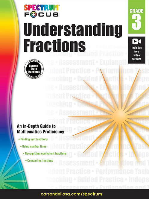 Understanding Fractions Workbook