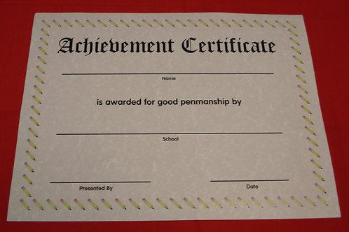 Penmanship Award