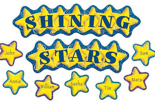 Shining Stars Mini Bulletin Board