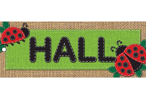 Burlap Hall Laminated Pass