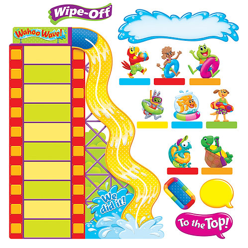 Playtime Pals Goal-Setting Adventures – Wipe-Off® Bulletin Board Set