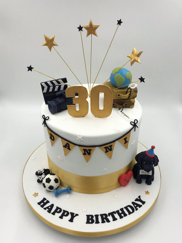 Favourite Things Themed Cake