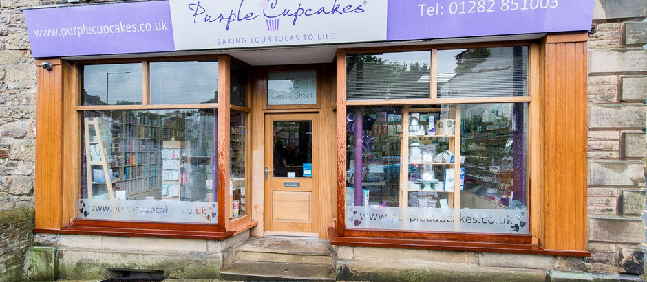 Purple Cupcakes - baking your ideas to life!