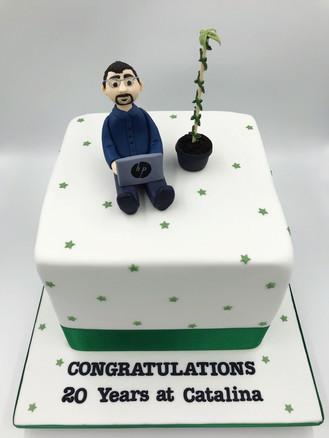 Work Anniversary Cake