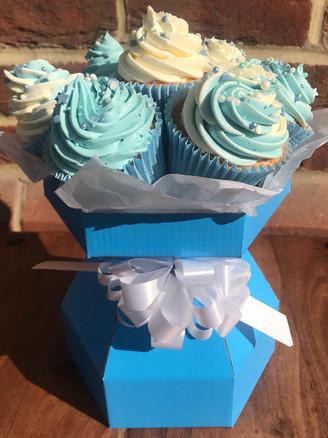 Simple Cupcake Bouquet