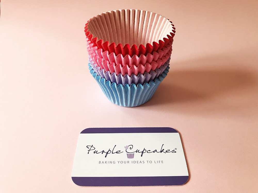 Cupcake cases from Purple Cupcakes