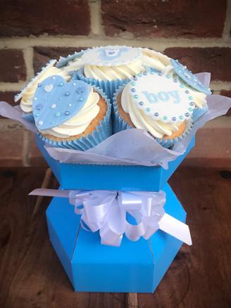 Baby Shower Cupcake Bouquet