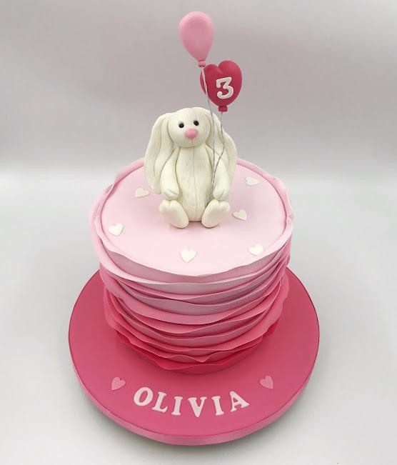 Ruffles Bunny Cake