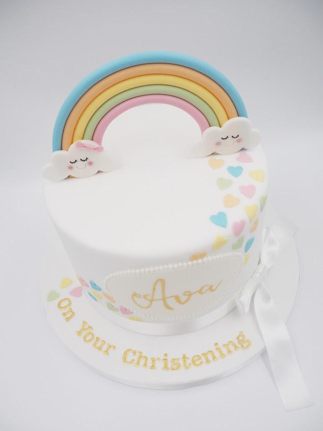 Rainbow Christening
