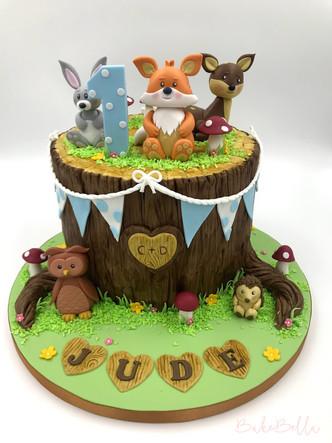 Woodland 1st Birthday