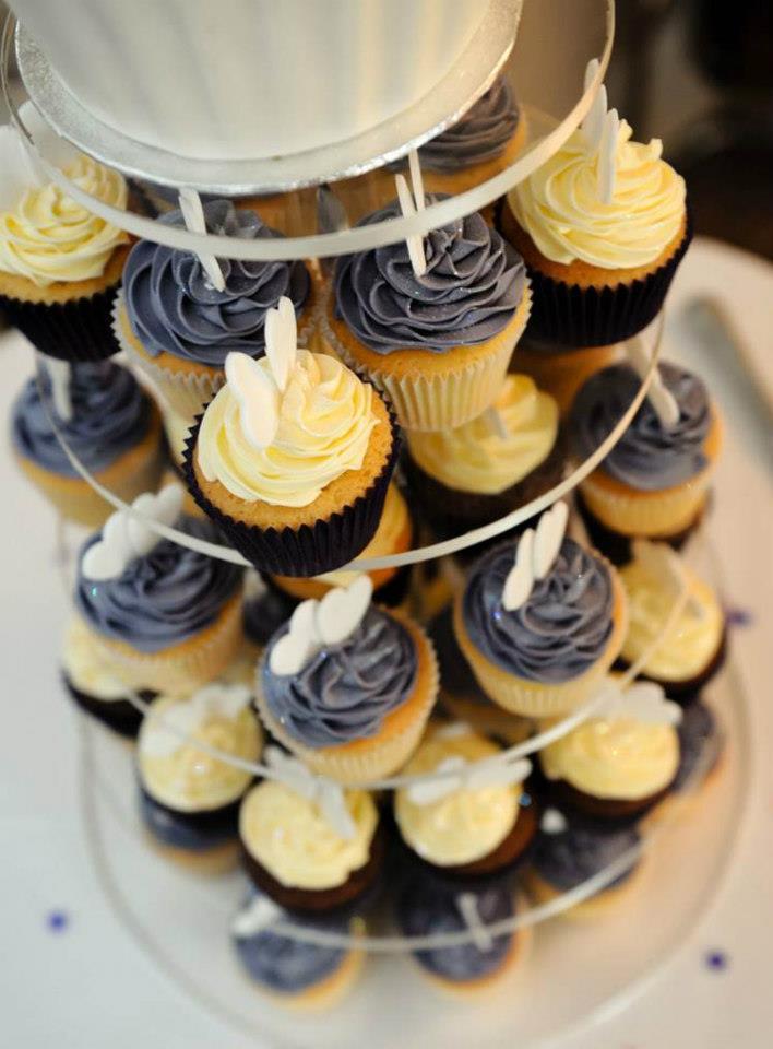 Love Heart Cupcake Tower