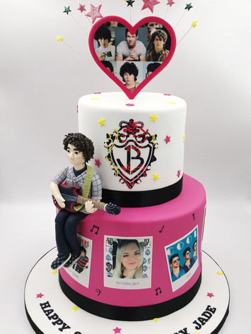 Jonas Brothers Novelty Cake