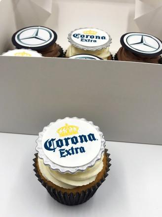 Corona & Mercedes Cupcakes