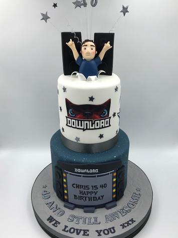 Download Festival Novelty Cake