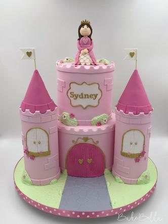 Princess Castle Cake