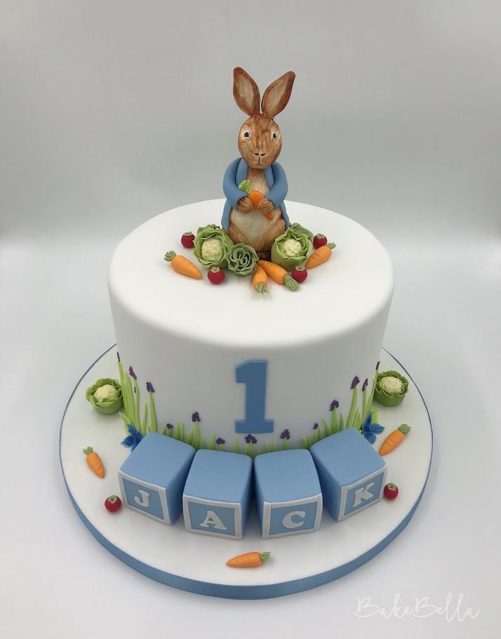 Peter Rabbit 1st Birthday Cake