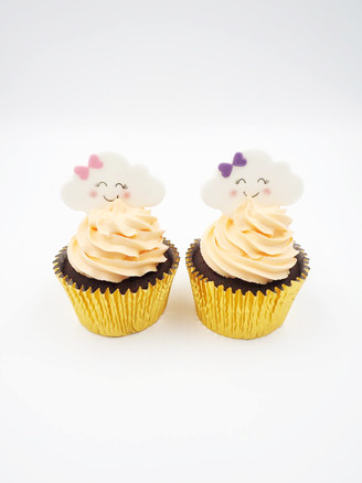 Cute Cloud Cupcakes