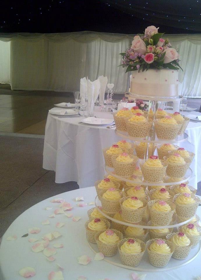 Filigree Cupcake Tower