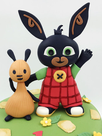 Bing Bunny & Flop Cake