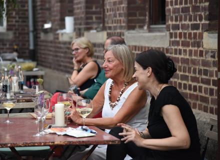 5tes Sommerdinner Gäste