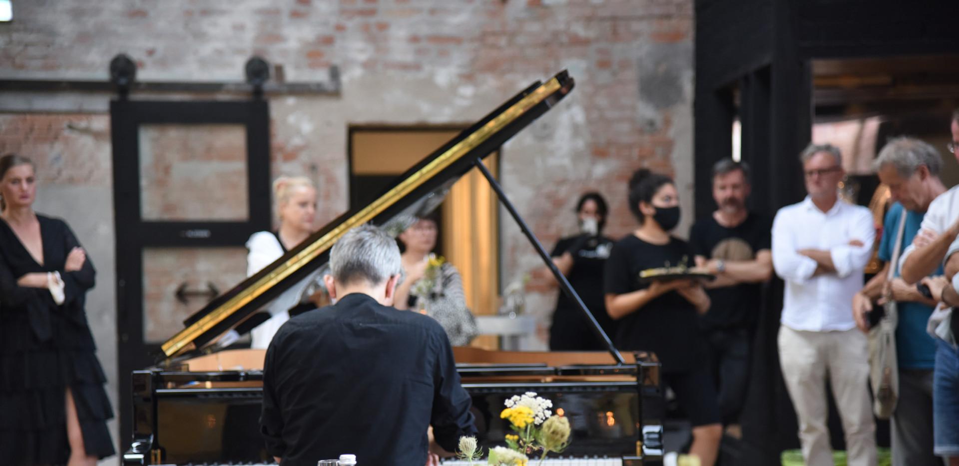 5tes Sommerdinner Musikalische Untermalung