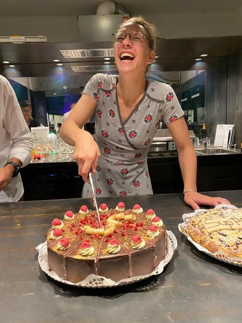5tes Sommerdinner Kuchen