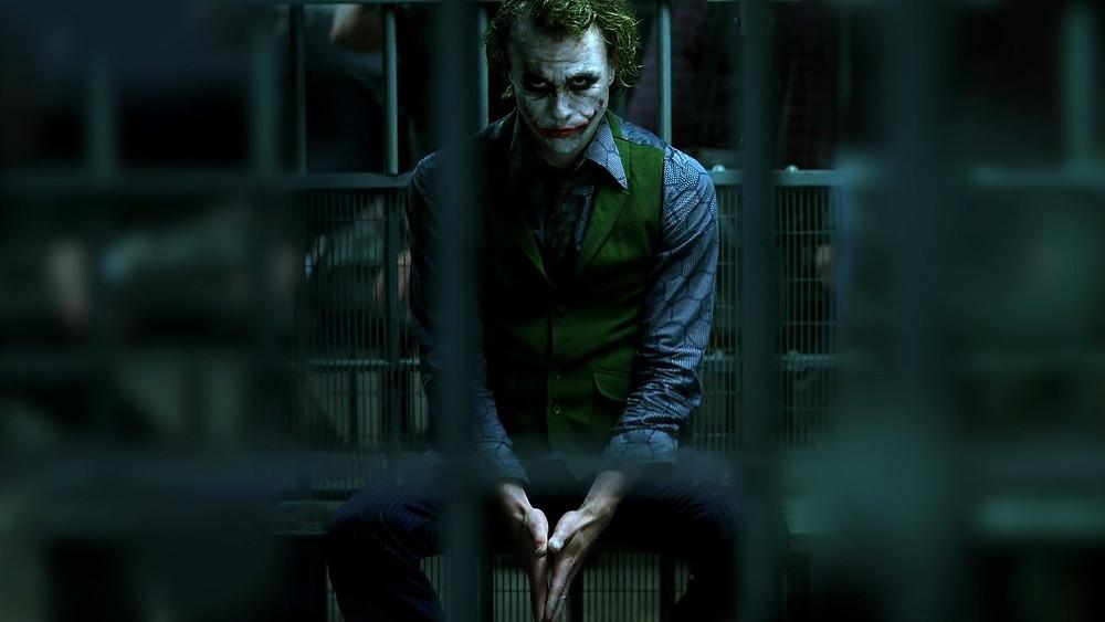 Los villanos de la vida real. The Joker.