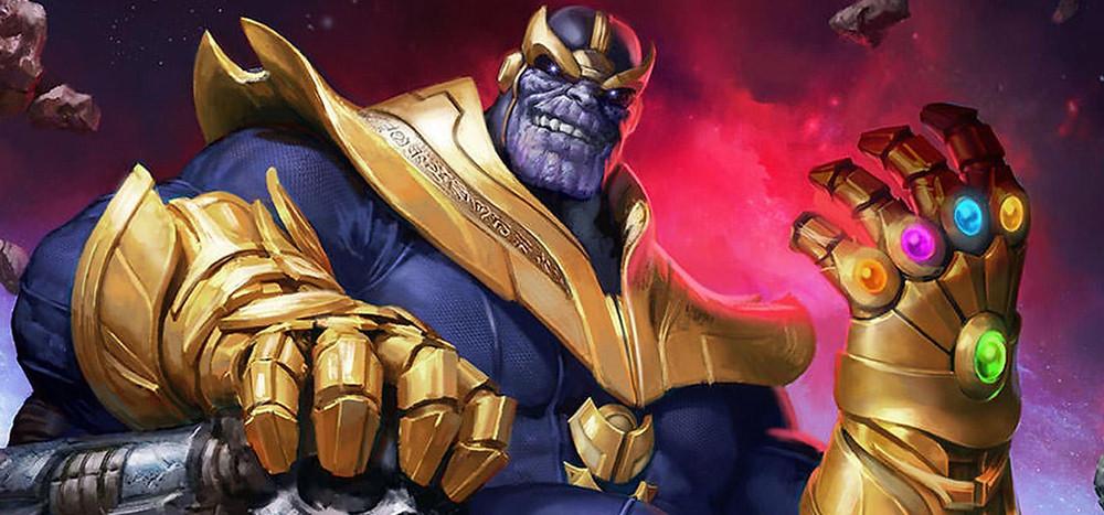 Los villanos de la vida real. Thanos, villano de Marvel.